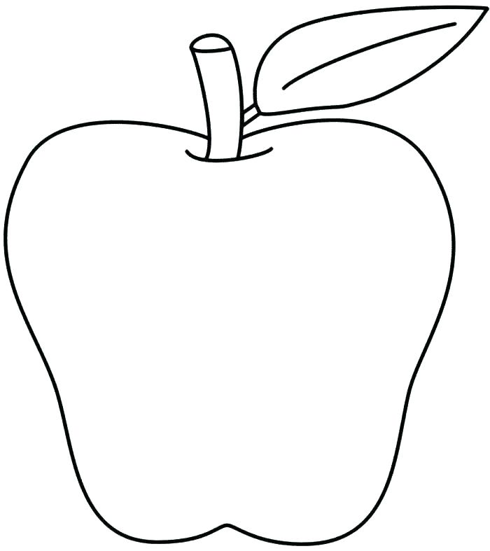 700x787 Apples Coloring Page Coloring Page Of Apple Coloring Apples Apple