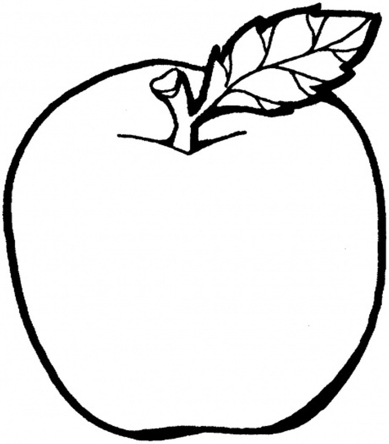 1283x1465 apple coloring pages preschool coloring sheets
