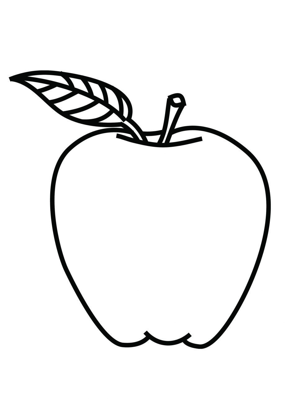 918x1283 Excellent Apple Coloring Pages For Kindergarten Apple Coloring