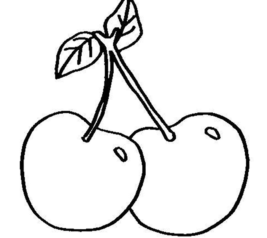 Apple Coloring Pages For Kindergarten at GetDrawings.com | Free for ...