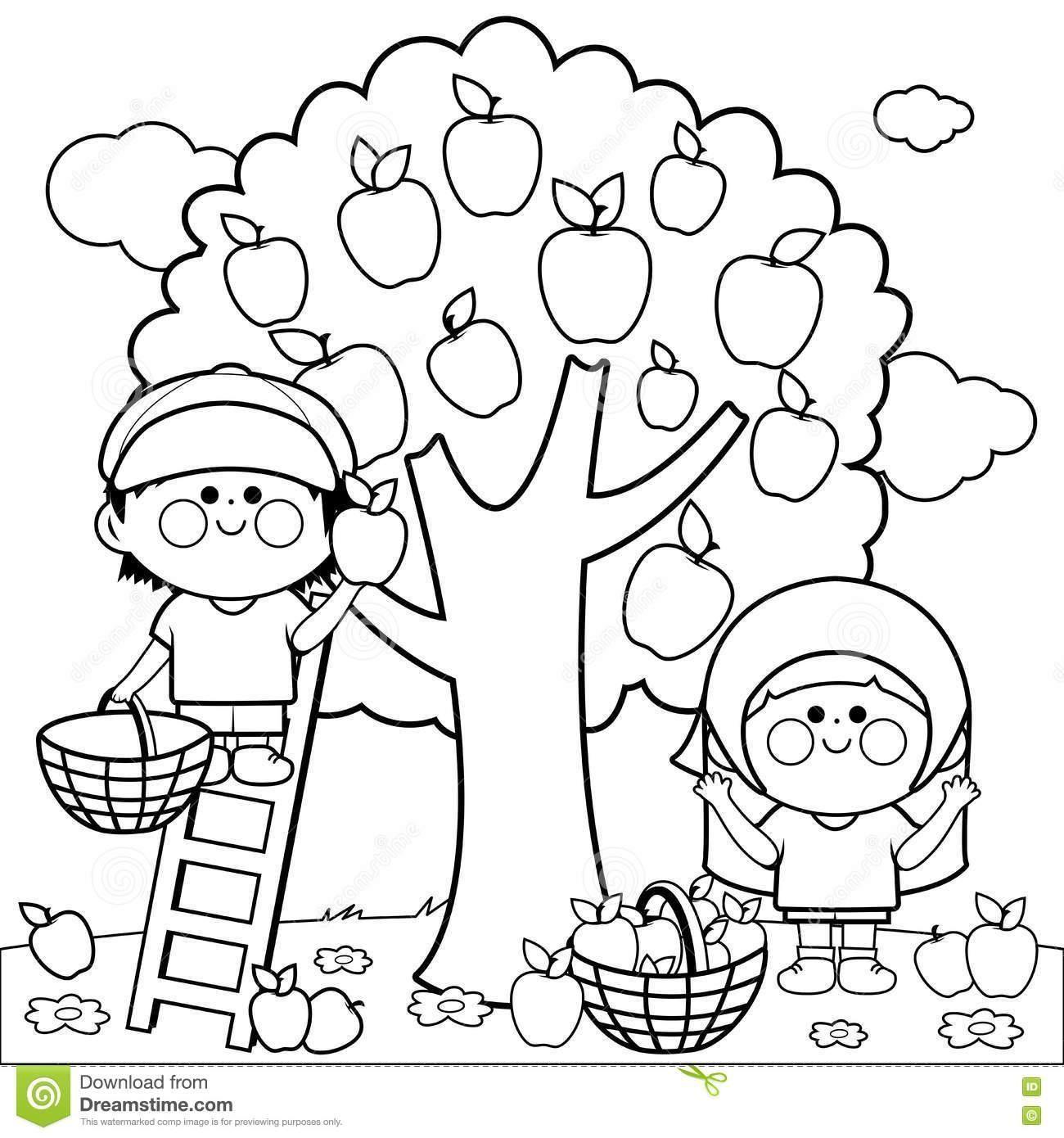 1300x1390 Apple Core Coloring Sheet Coloring Sheets