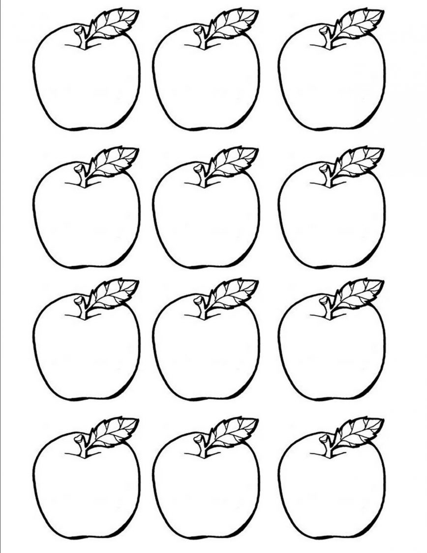 868x1124 Printable Templatese Template Photo Design Fruits Coloring Pages