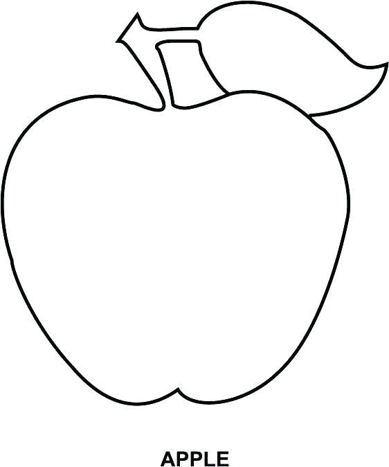 562x674 Apple Coloring Pages Apple Coloring Pages Apple Coloring Sheets
