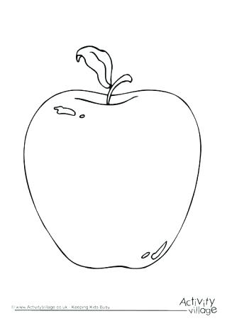 Apple Logo Coloring Pages At Getdrawings Free Download