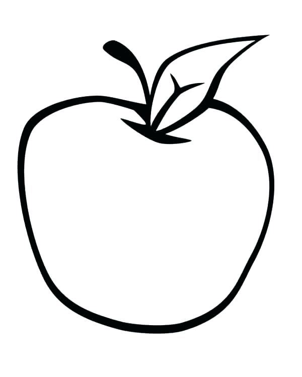 600x749 Apple Picking Coloring Pages