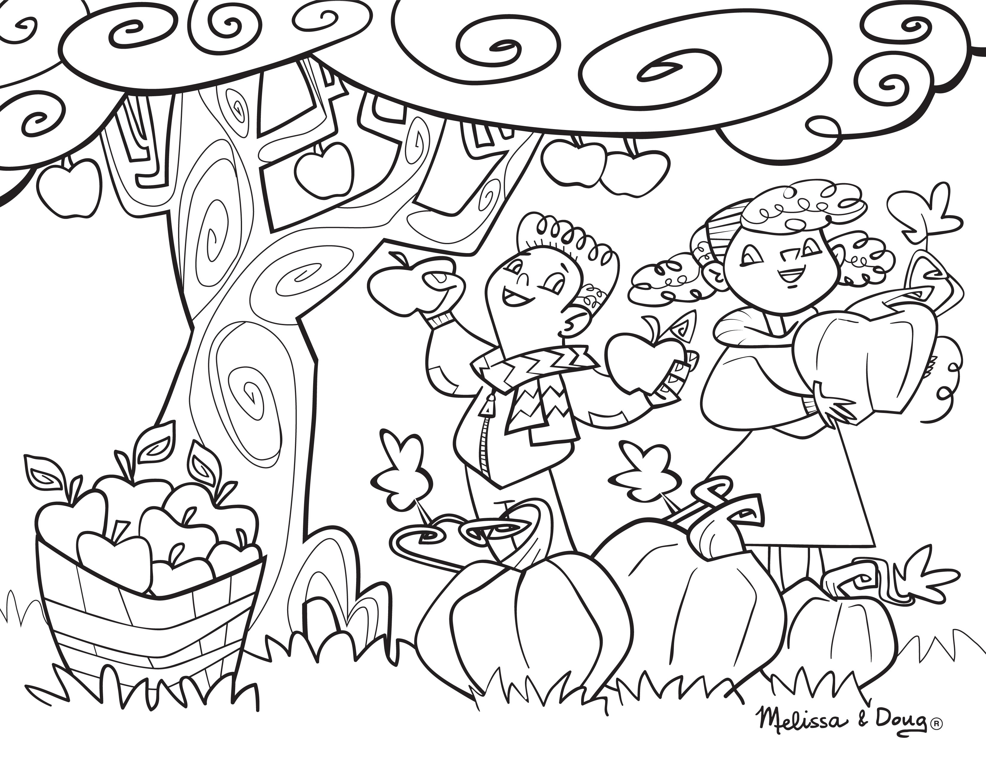 3300x2550 Apple Printable Coloring Page For Kids