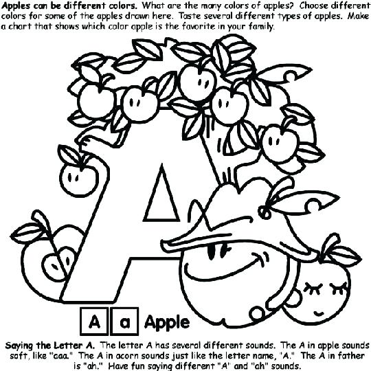 540x540 Pictures Of Apples To Color Apple Picking Coloring Pages Crayola