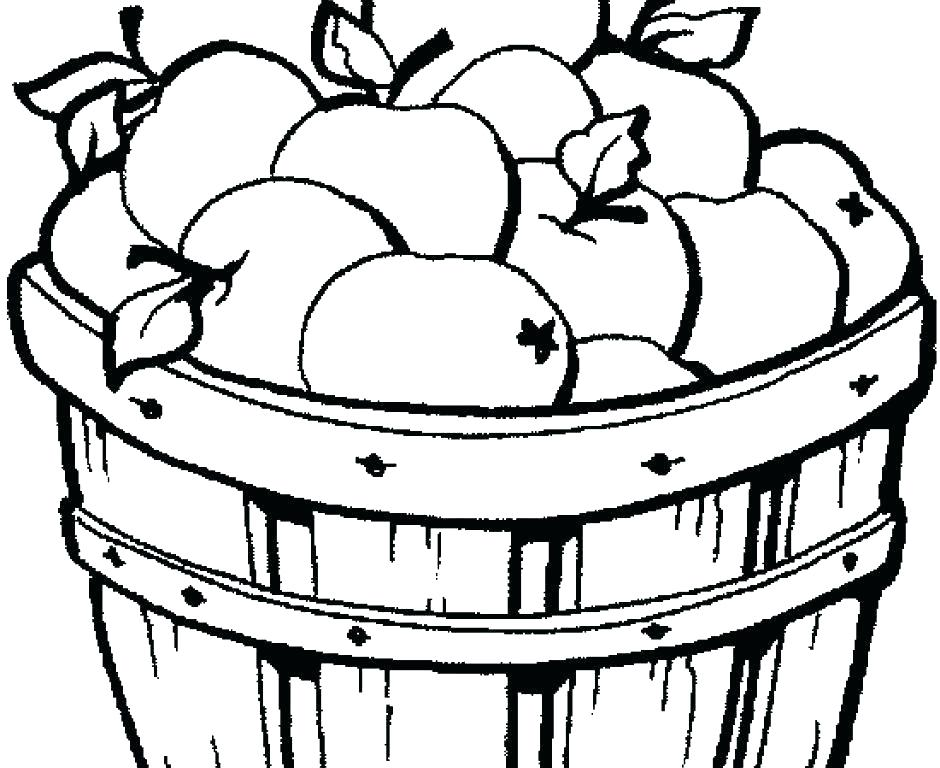 940x768 Coloring Page Of An Apple Pie Coloring Pages Apple Tree Coloring