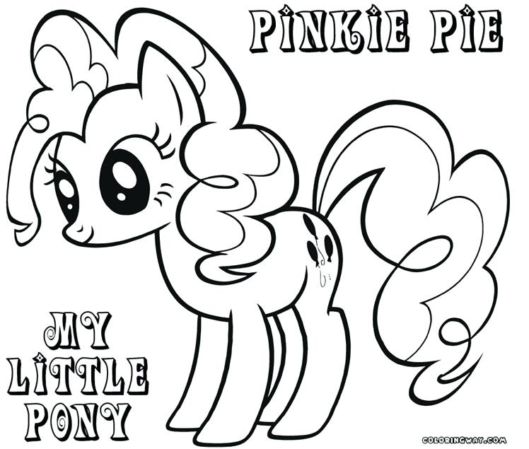 748x635 Pie Coloring Page Exciting Pinkie Pie Coloring Page For Your
