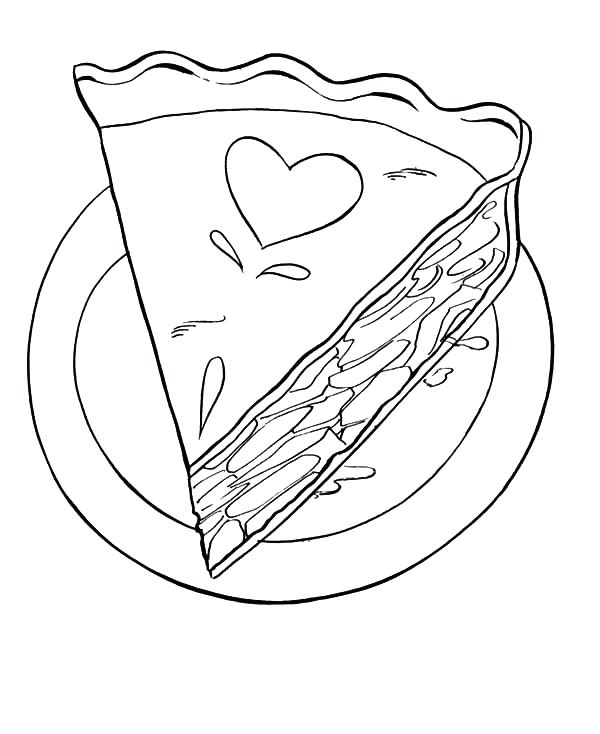 600x734 Pinkie Pie Coloring Page Pie Coloring Page Stock Yummy Apple Pie