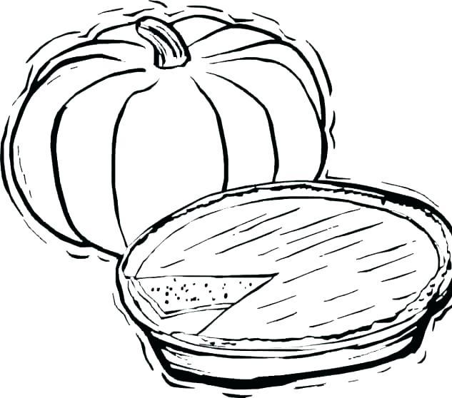 633x558 Pumpkin Pie Coloring Page Free Printable Coloring Pages Pumpkin