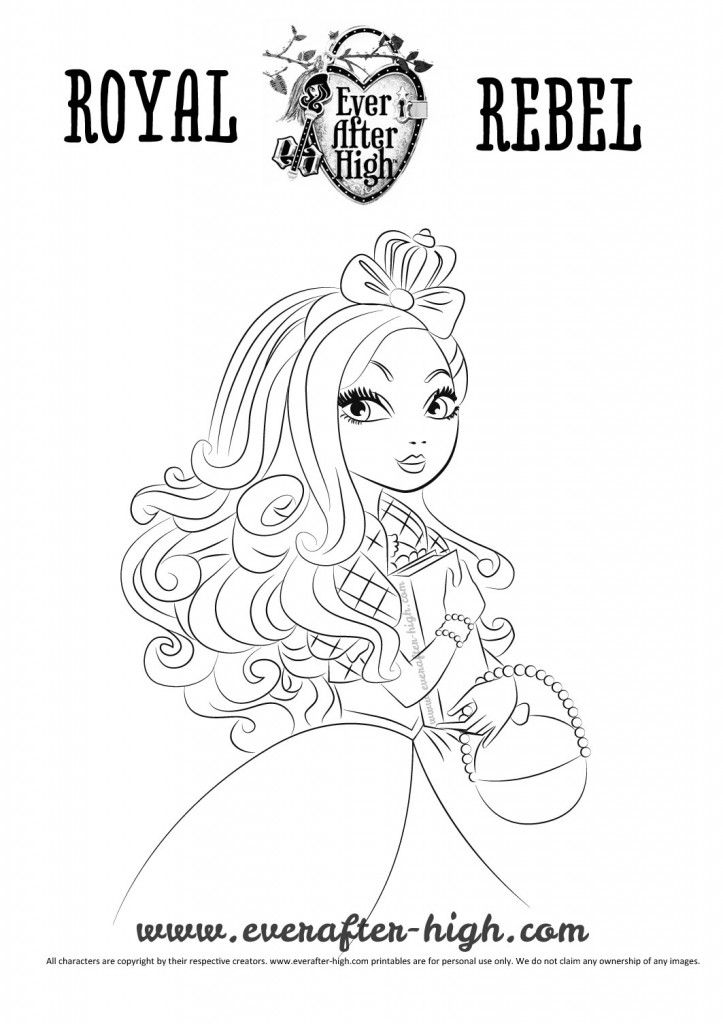 Apple White Coloring Pages