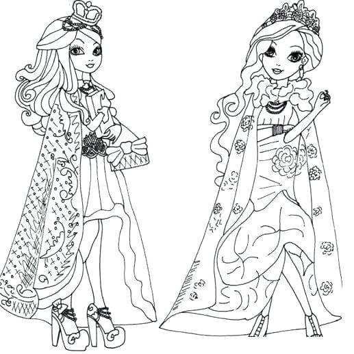 517x517 Coloring Ever After High Ever After High Coloring Pages Apple