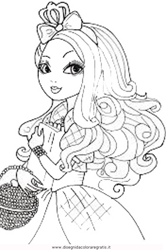 573x860 Ever After High Applewhite Coloring Pages