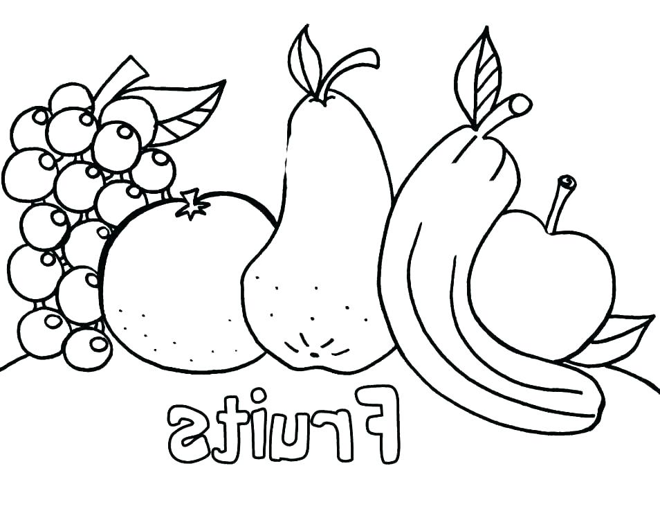 954x738 A Is For Apple Coloring Page Apples Coloring Page Apples Coloring