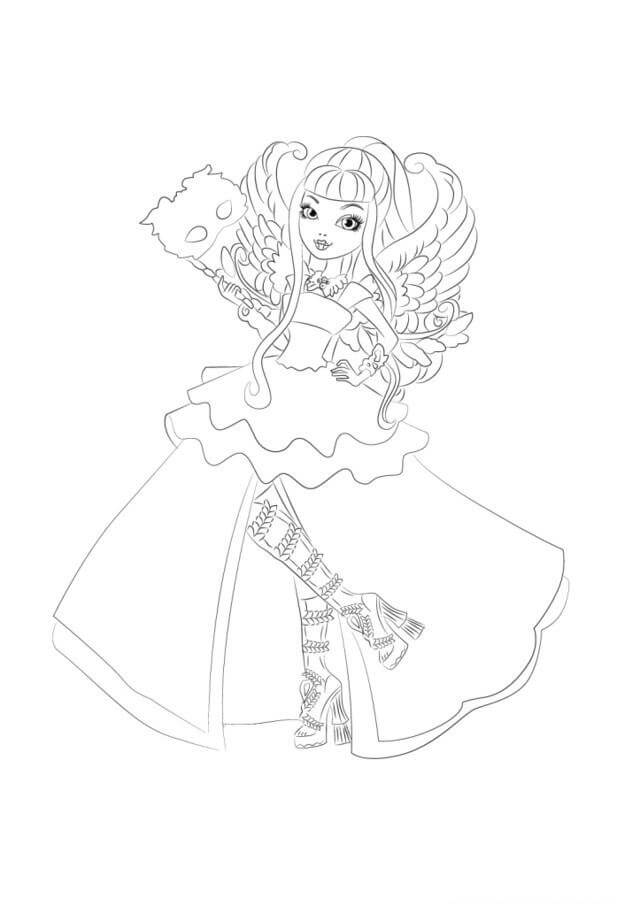 640x906 Ever After High Coloring Pages Coloring Pages For Kids