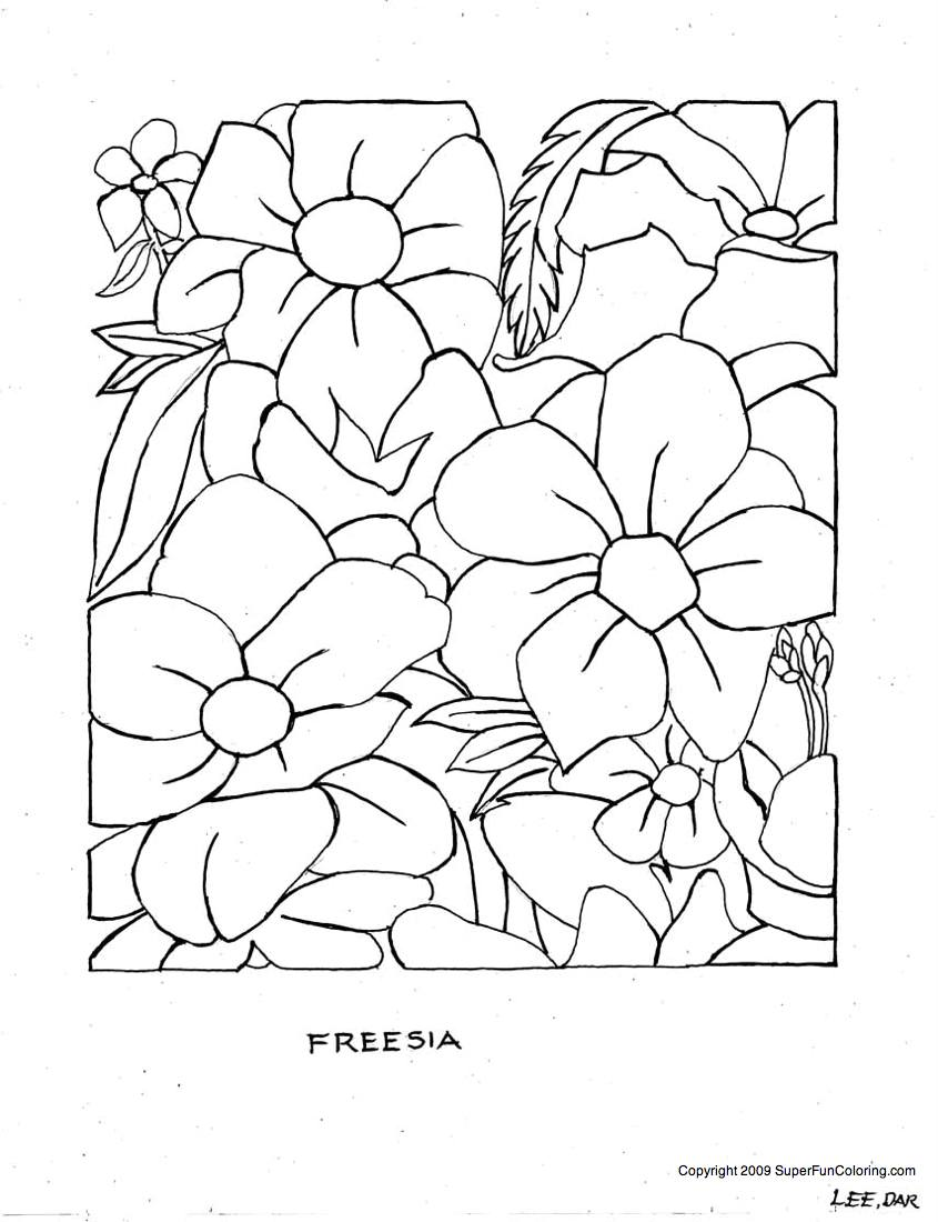 845x1100 Simplified Free Printable Pictures Of Flowers To Color Daring