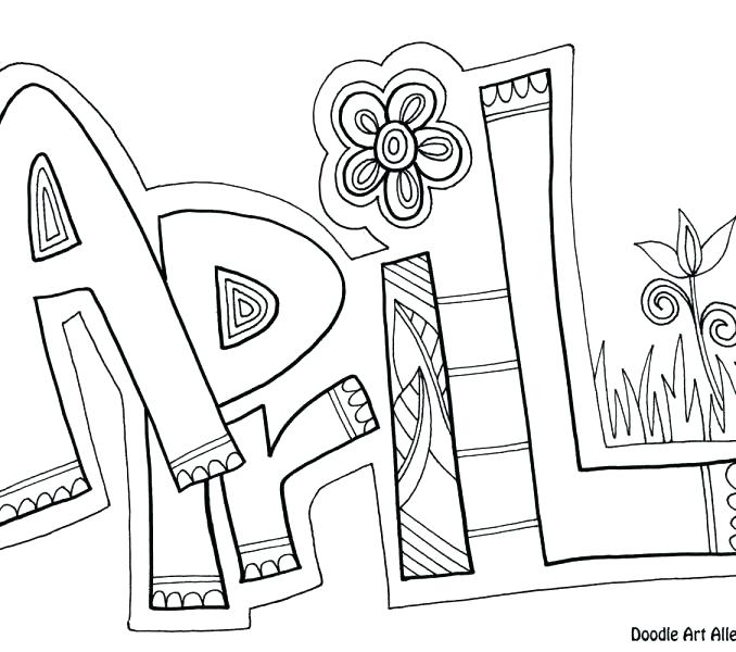 678x600 April Coloring Pages Coloring Pages Coloring Pages Coloring Pages