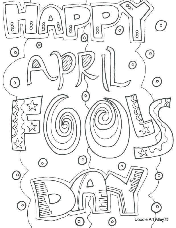 618x800 April Coloring Pages To Print Coloring Pages April Fools Day