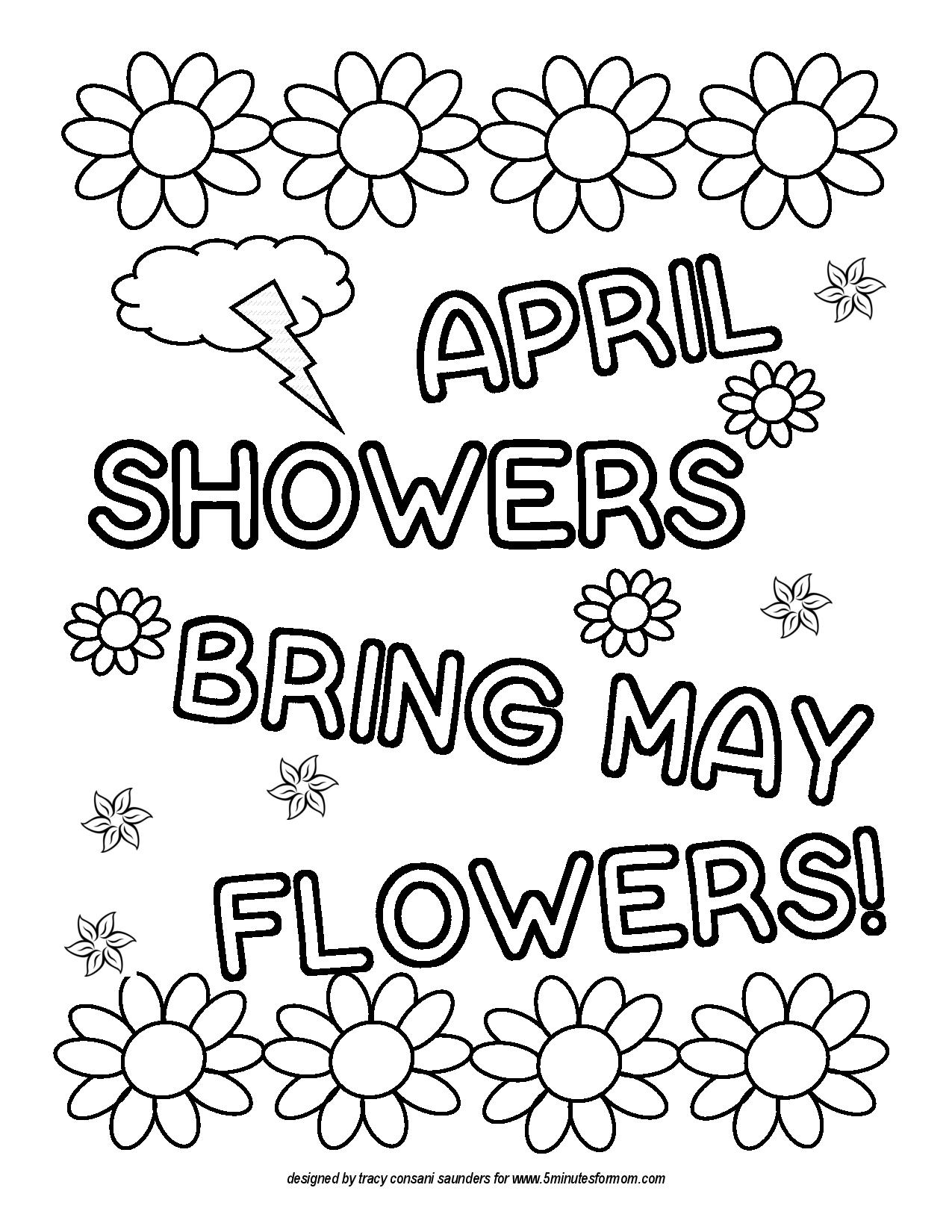 1275x1650 Unique April Coloring Sheets Colouring In Beatiful Proven April