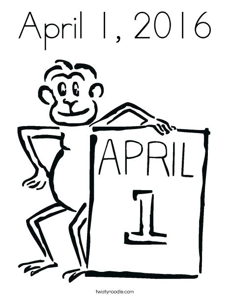 468x605 April Coloring Pages Detail Spring Coloring Pages April Fools Day