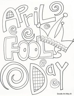 250x323 April Fools Day Coloring Page Full Day Plans
