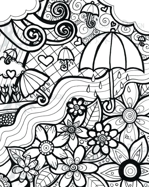 570x713 April Coloring Pages Click To See Printable Version Of Fools Day
