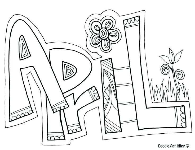 736x568 April Coloring Pages Coloring Pages Coloring Page Free Printable