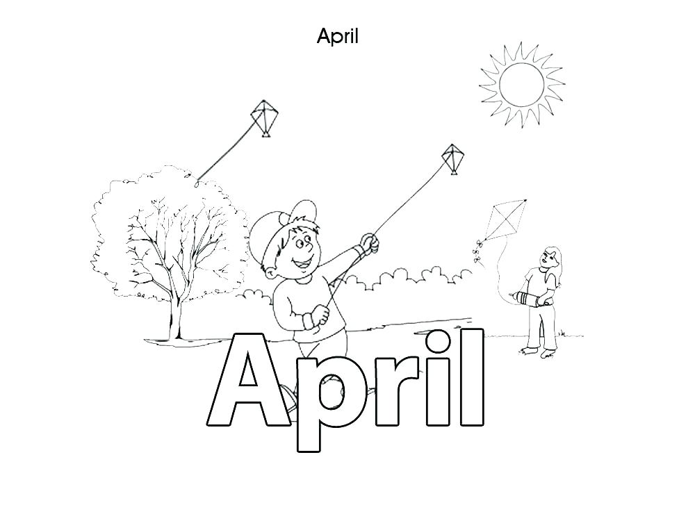 1000x750 April Coloring Pages Fools Day Coloring Pages Free Practice