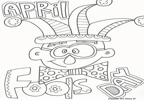 476x333 April Coloring Sheets Page Image Clipart Images