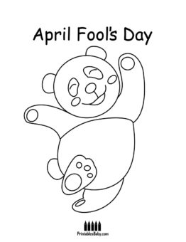 262x340 April Fool's Day Coloring Pages Archives