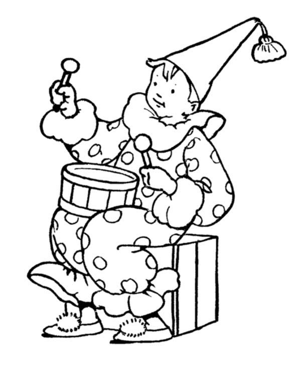 600x734 April Fool's Day Coloring Pages For Childrens Printable For Free