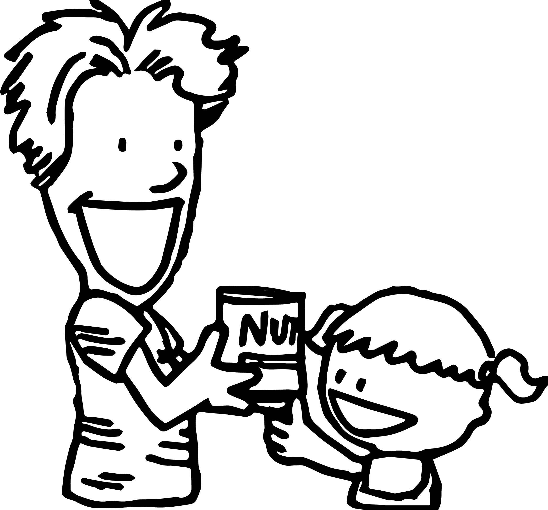 2292x2130 April Fool Family Nut Coloring Page Wecoloringpage