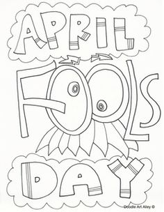 236x304 April Fools Coloring Page And April Fools Song For Preschool
