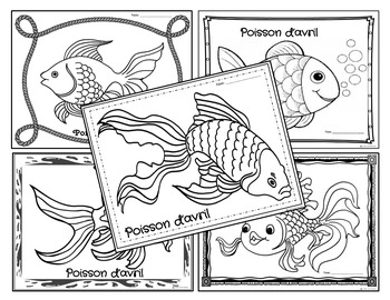 350x270 Poisson D'avril April Fools Day Activities And Coloring Pages Fsl