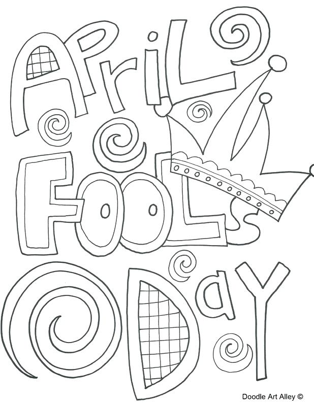 618x800 April Fools Day Coloring Pages Free Coloring Pages Collection
