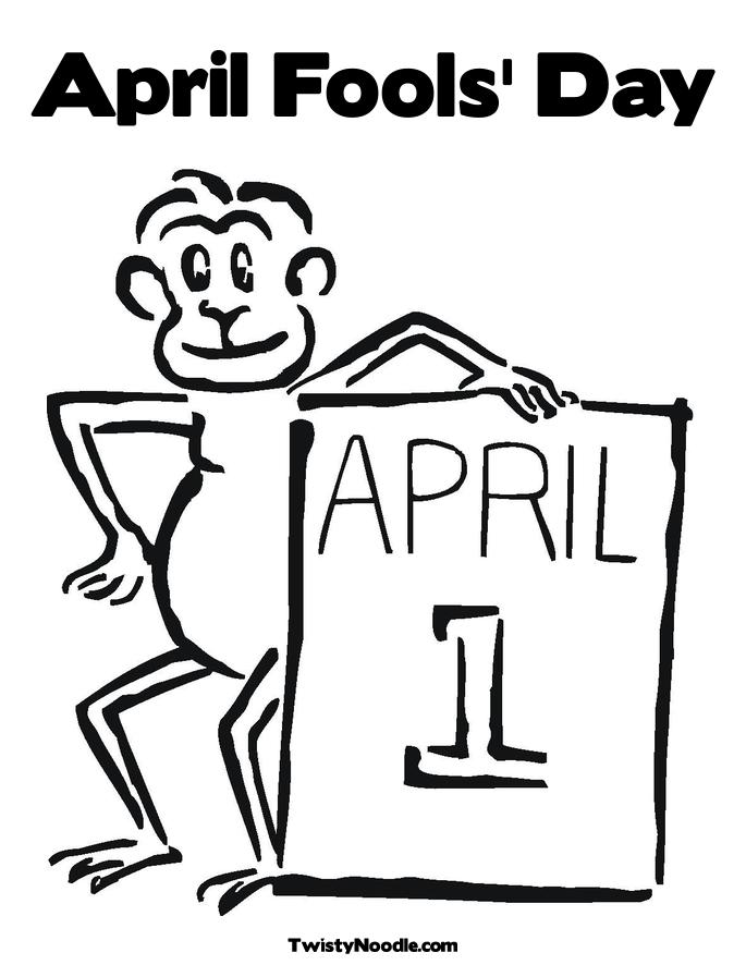 685x886 April Fools Day Coloring Pages Online Coloring