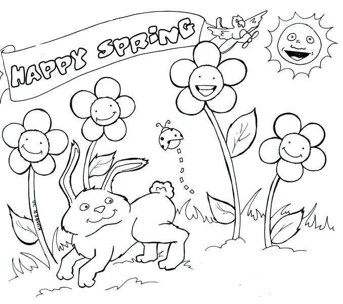 678x600 April Coloring Pages Beauteous April Coloring Pages Full Size