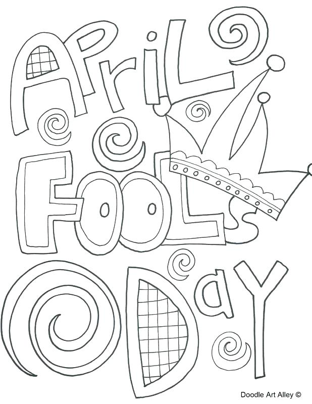 618x800 April Coloring Pages Coloring Pages Fools Day Coloring Pages