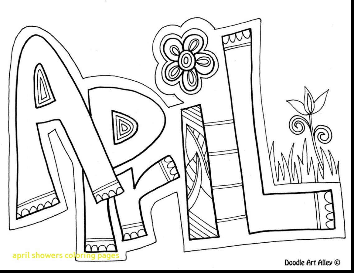 1138x880 April Showers Coloring Pages With Extraordinary April Showers
