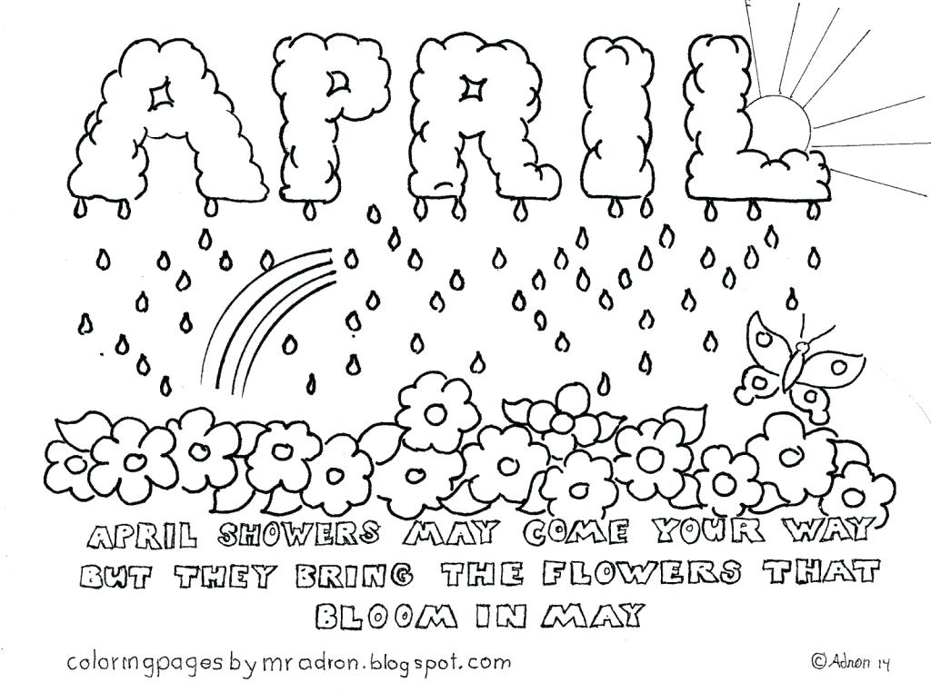 1024x762 April Coloring Sheets April Coloring Sheets Printable Look Out