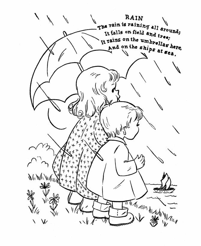 670x820 April Showers Coloring Pages Lovely April Showers Coloring Pages