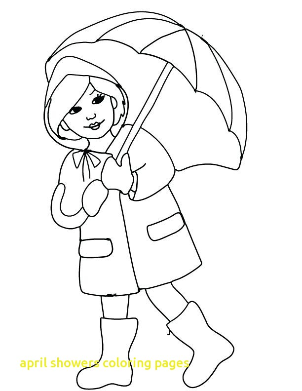 612x792 April Showers Coloring Pages With April Coloring Pages April