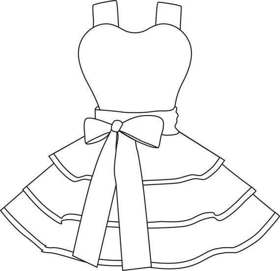 570x553 Design Your Own Apron Coloring Pages Digital