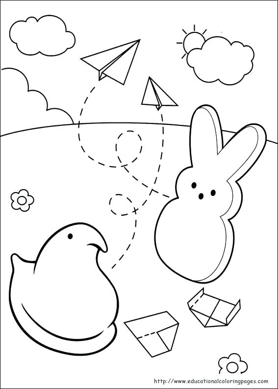567x794 Apron Coloring Page Peeps Coloring Pages Educational Fun Kids