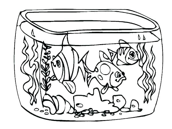 Aquarium Fish Coloring Pages