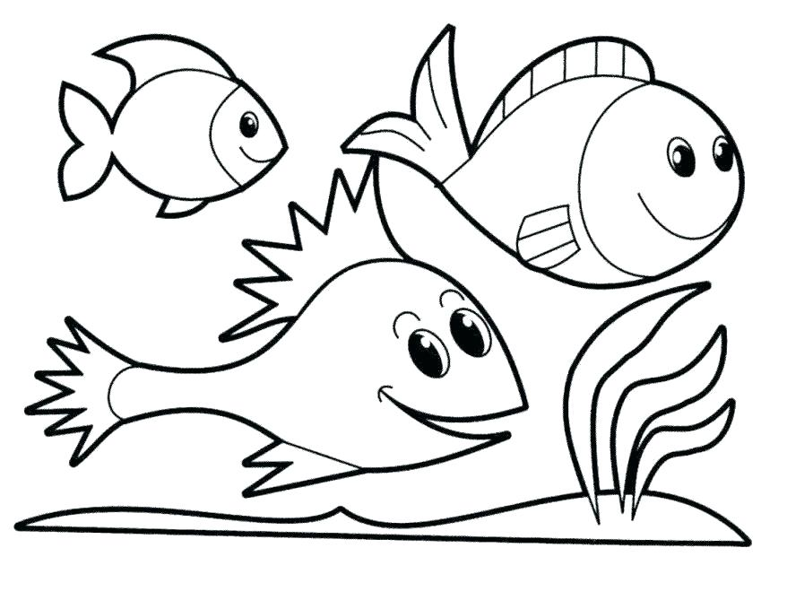 878x669 Fish Tank Coloring Page Coloring Pages Of Fish Fish Tank Coloring