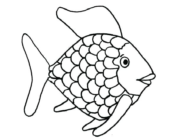 600x468 Realistic Fish Coloring Pages Fish Coloring Page Coloring Pages