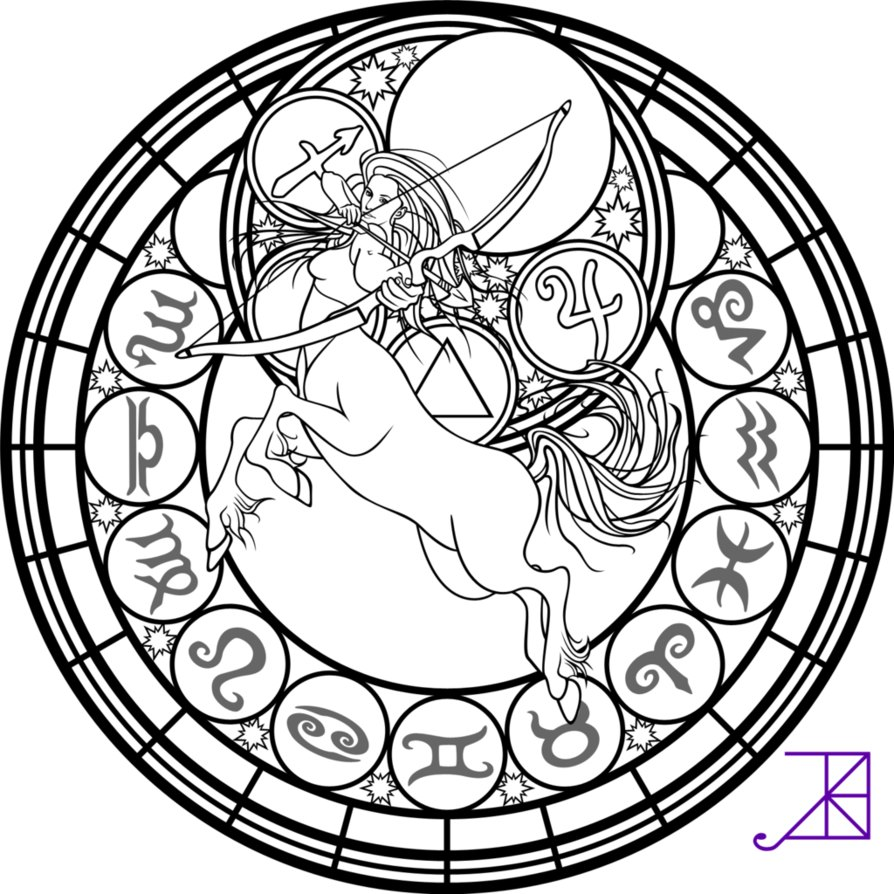 894x894 Best Astrology Coloring Pages