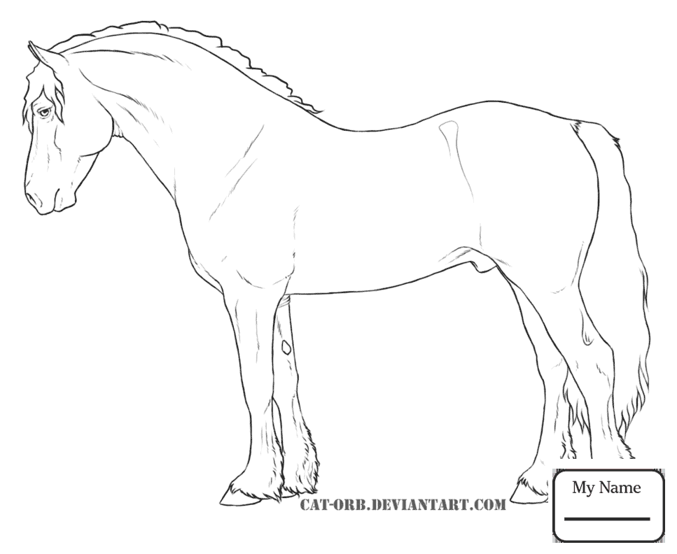 967x792 Spotted Horse Coloring Pages
